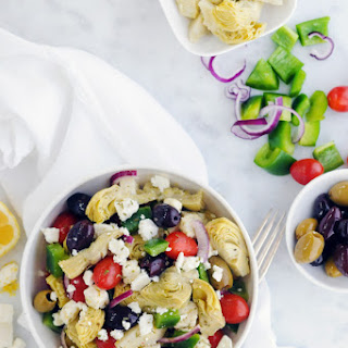 Mediterranean Artichoke Salad