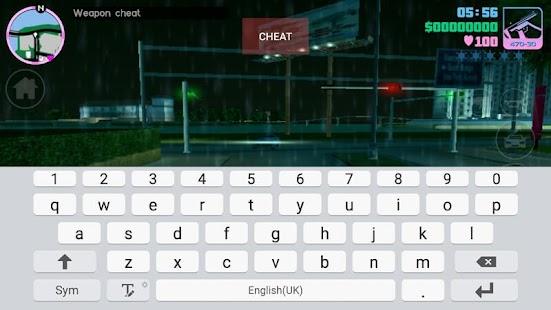 cara cheat gta san andreas android game keyboard