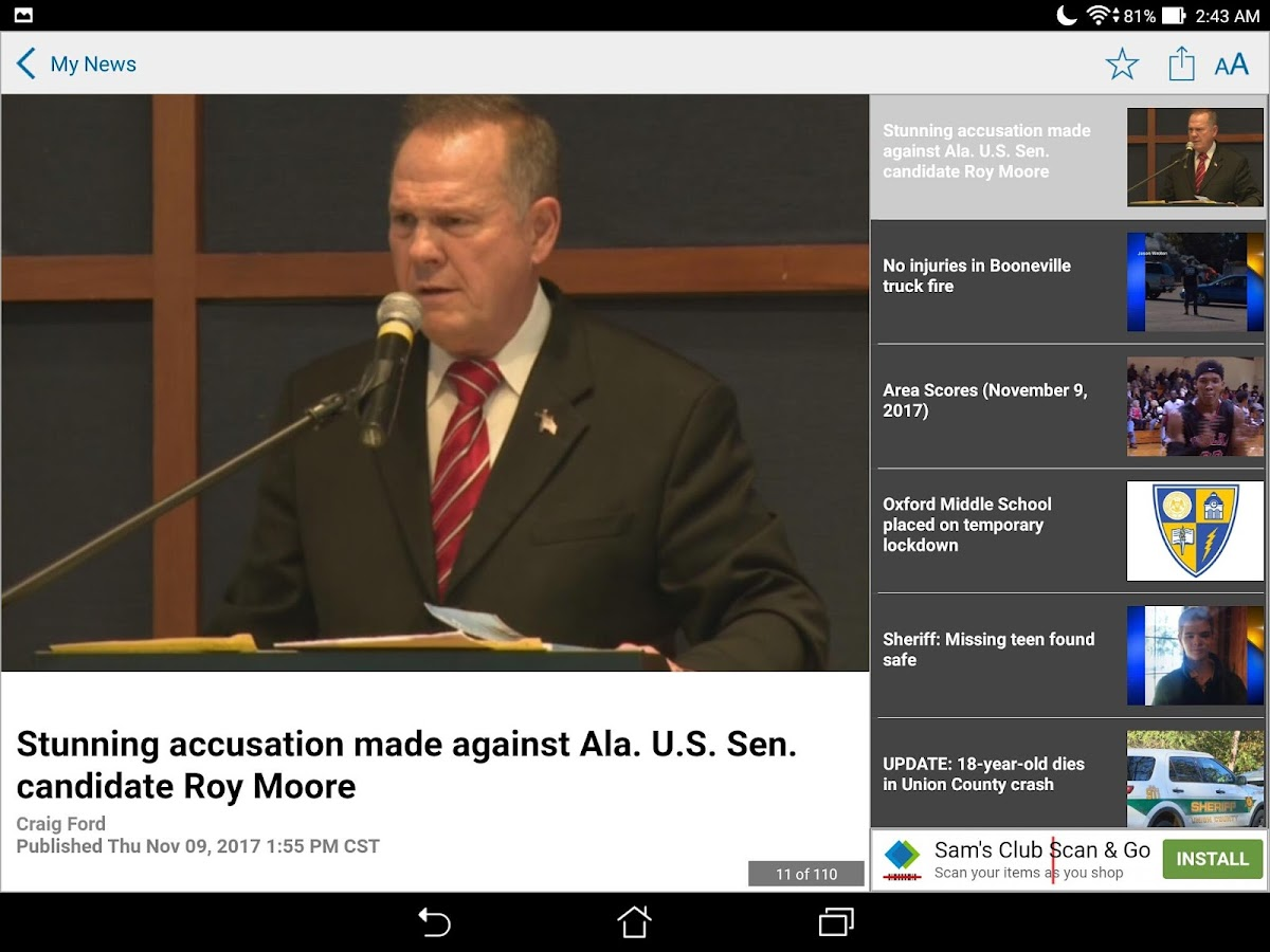 WTVA/WLOV News- screenshot