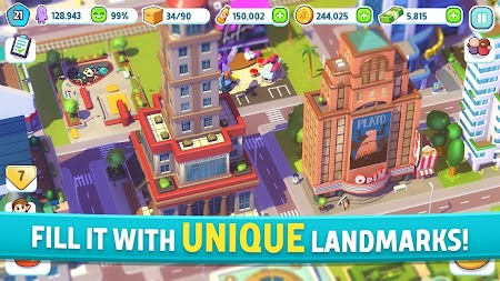 City Mania: Town Building Game APK screenshot thumbnail 2