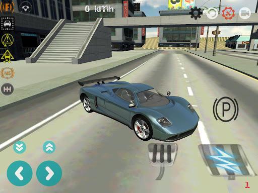 Car Drift Simulator 3D apkpoly screenshots 1
