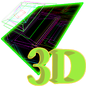3D Cube Matrix Live Wallpaper