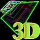 3D Cube Matrix Live Wallpaper