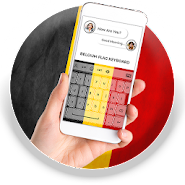 Belgium Flag Keyboard - Elegant Themes APK icon