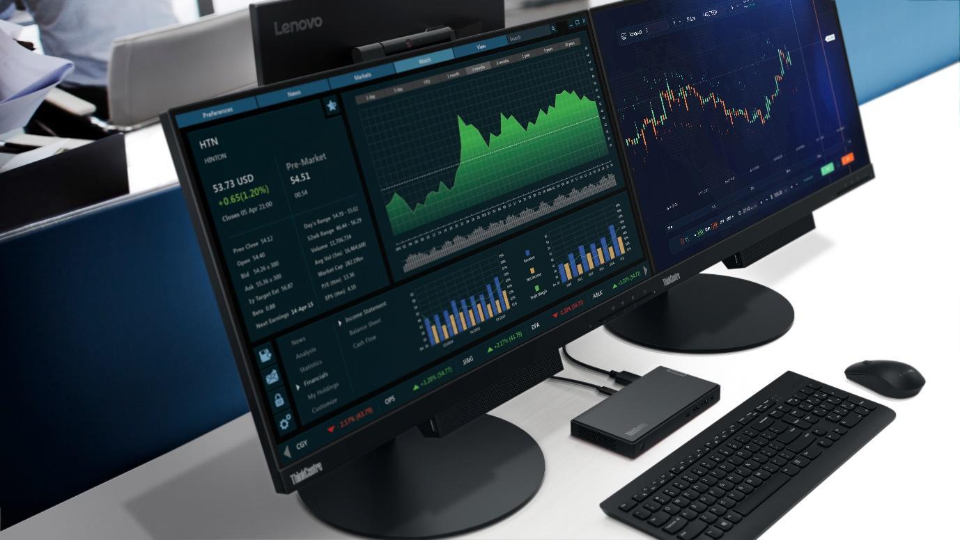 O desktop mais pequeno de sempre, ThinkCentre da Lenovo conta com processadores AMD