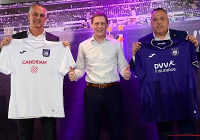 📷 Le sponsor d'Anderlecht en rouge? Loin d'être une première