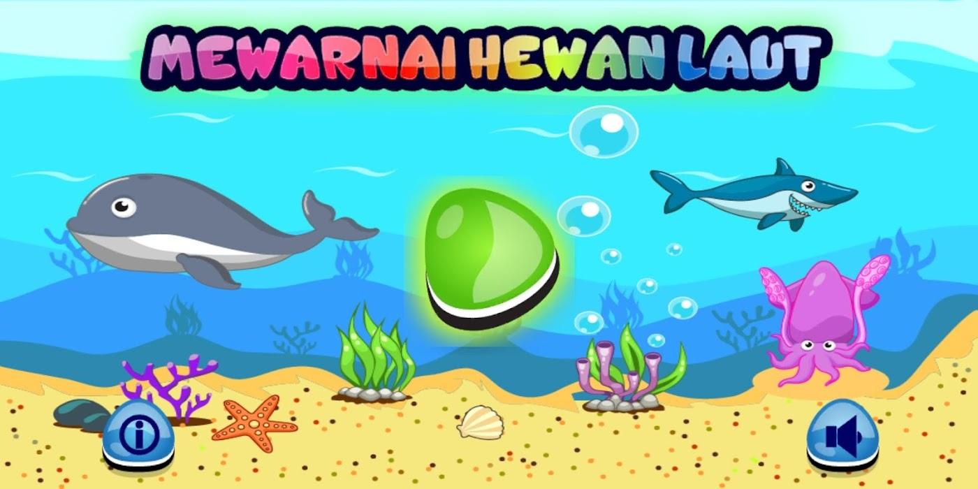 Download Mewarnai Hewan Laut Free For Android Mewarnai