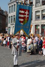 Photo: Bannière de la paroisse de Sainte-Elisabeth