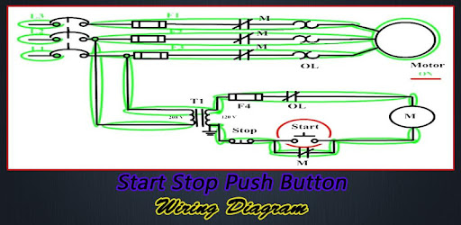 Start Stop Push Button Wiring Diagram