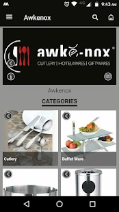 AWKENOX - CUTLERY | HOTELWARES | GIFTWARES - náhled