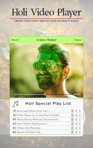 Holi Video Maker 2018 - Holi Slideshow Maker 1.1.0 screenshots 3