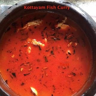 My MIL's Kottayam Fish Curry