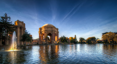 Photo: I found your heart in San Francisco San Francisco, CA. 2012.  One of the coolest buildings in San Francisco, in my opinion, is the palace of Fine Arts. We visited the adjoining Exploratorium yesterday and on our way out I asked my wife if she would walk around the lake with me (so I could grab a few shots). This was the last frame I got that day, (while my very patient wife waited for me, she is a saint!).  If you left your heart in San Francisco, this is likely where its going to be found.  I've begun going through +Trey Ratcliff's video on HDR processing (and I'm loving it), so you're going to see more HDR on my stream, I'm putting a real effort to make good looking HDR. I welcome all comments (good and bad) about the quality so far.  Specs: 3 exposure HDR composition (-2, 0, +2). Merged in Photomatix, and retouched in Photoshop + Lightroom to bring shadows back into the image.