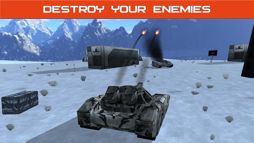 Tank Combat : Future Battles  captures d'u00e9cran 11