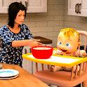 Virtual Mother Simulator: Mom Baby Simulator Games icon