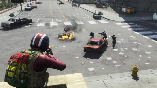 Shooting BattleGround Fire Squad Survival 4.1 screenshots 4