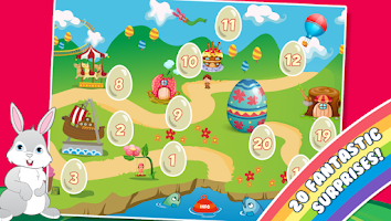 Screenshot of Easter Calendar 2015