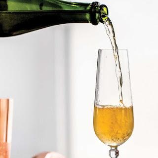 Spike the Kiddie Table (Sparkling Cider Rum Cocktail).
