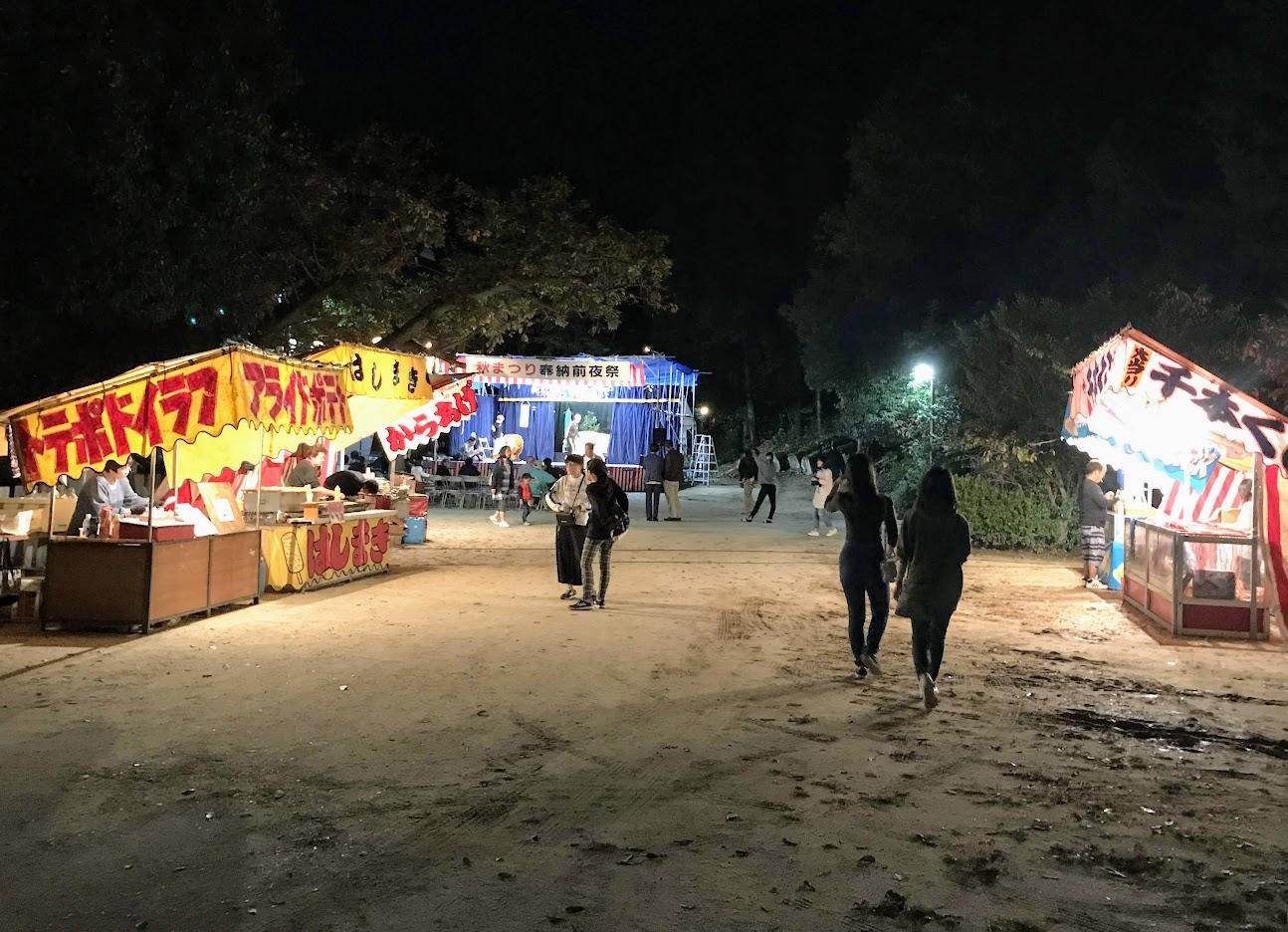 大原神社・秋祭り