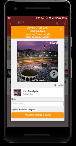 Calendar2U: Indonesia Calendar 2019 - 2020 2.6.8 screenshots 1