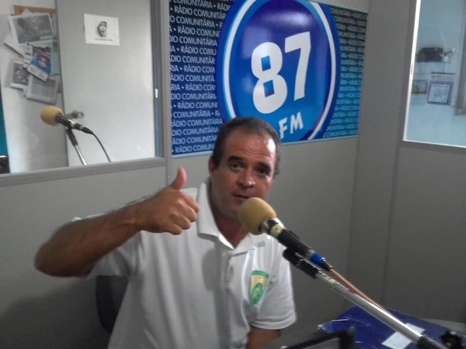 Giovane Dos Santos, presidente da AEG (Associação Esportiva Guaxupé)