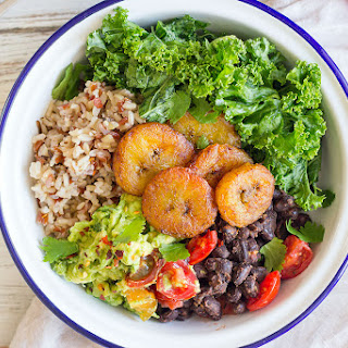 Black Bean and Plantain Summer Bowl