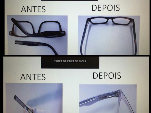 be46761a0aae3 Gama sold Conserto Óculos