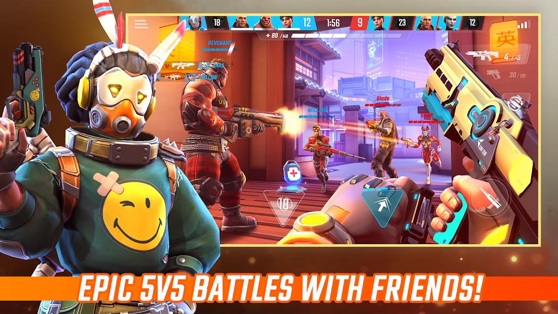 Shadowgun War Games - Online PvP FPS Android App Screenshot