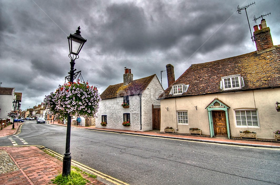 rottingdean village  by Mark West - Buildings & Architecture Homes
