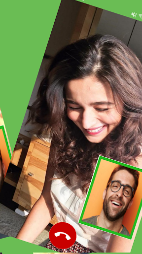 Fake Video Call Bollywood Celebrity Fake Time Screenshot 3