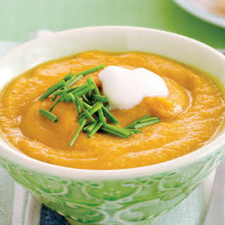 Sweet Potato and Lentil Soup.