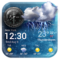 Daily & Hourly Weather Clock Widget icon