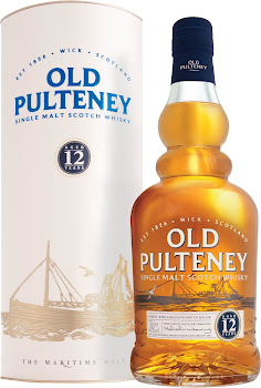 Old Pulteney Single Malt Scotch Whisky - Aged 12 Years, 70cl