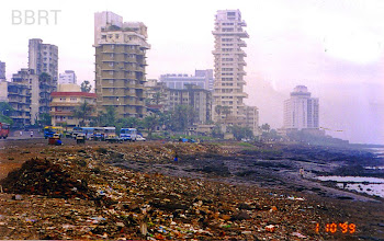 Photo: 1999 - Garbage dumps & Bus Stand on Promenade