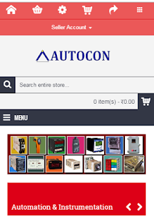 AUTOCON.BIZ -E-commerce portal- screenshot thumbnail
