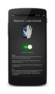 Wave to Lock/Unlock screenshot 2