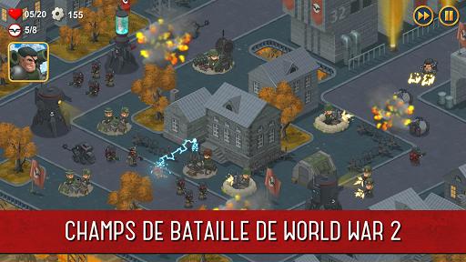 World War 2: Offline Strategy  captures d'u00e9cran 1