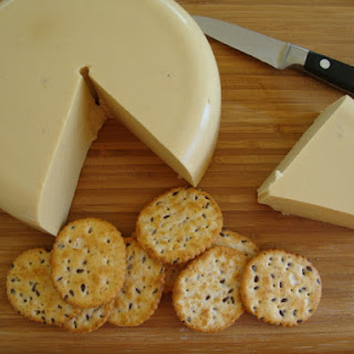 Easy, Awesome Baked Cashew Cheese.