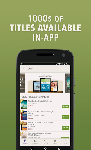 Bible App by Olive Tree  screenshots 5