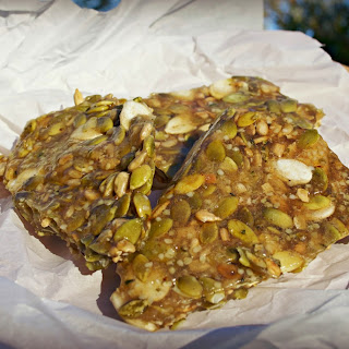 Raw Pumpkin and Sunflower Seed Brittle