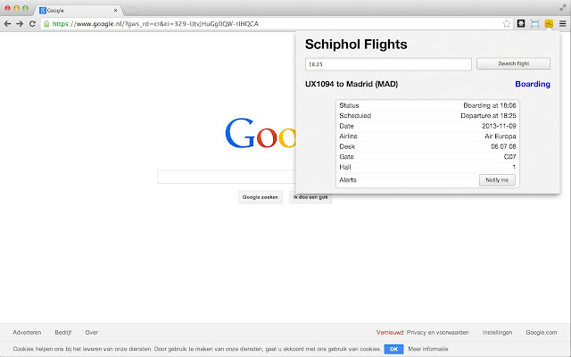Schiphol Flights