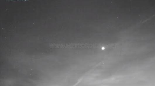 """El Observatorio de Calar Alto capta una """"impresionante"""" perseida"""