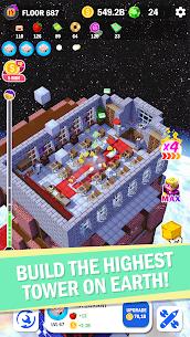 Tower Craft 3D MOD (Unlimited Money) 4