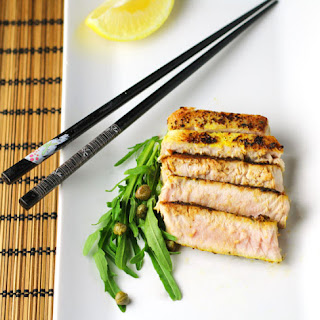 Zesty Lemon Pepper Tuna Steaks