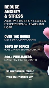 Anxiety, Depression & Stress Relief Audio Courses - náhled