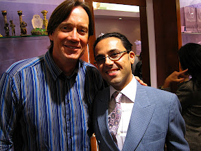 """Photo: Photo: Kevin Sorbo (""""Hercules"""") and Peter Sedghi, President of Luxury Jewls of Beverly Hills  Photo credit: Popular Press Media Group (PPMG)  Dame Elizabeth Taylor's """"House of Taylor"""" opens in Beverly Hills on Dec 12, 2009."""