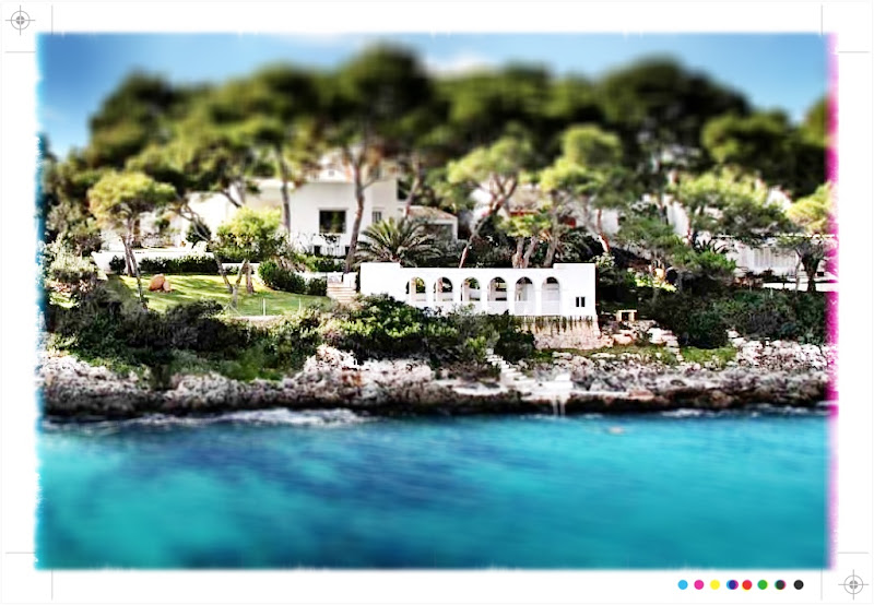 Photo: Cala D'Or, Mallorca.  This was only the second property to ever have been built in this bay for the governor general of Mallorca. (€3.9 million). http://search.knightfrank.com/rsi081089