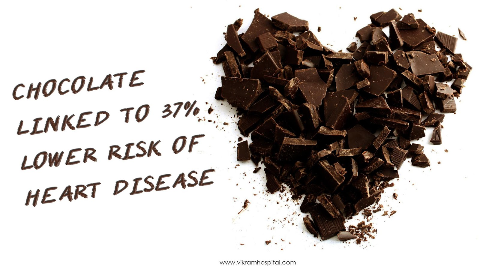Chocolate Good for the Heart - Vikram Hospital | Bangalore