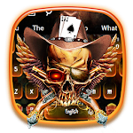 Devil Gun Skull Keyboard icon