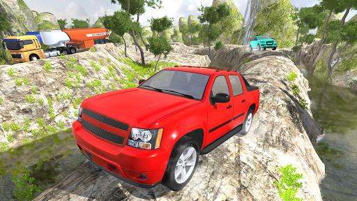 Pickup Truck Driving Simulator Uphill 3D 2019  captures d'u00e9cran 2